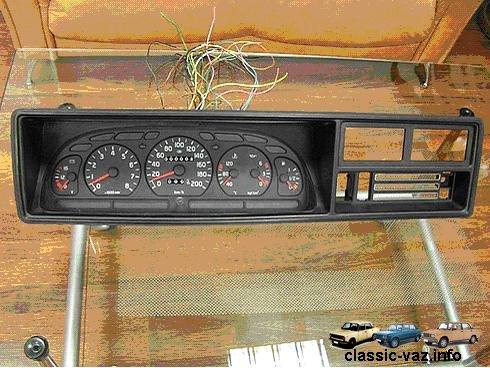 ... панель от ГАЗ 3110 в ВАЗ 2104-2105-2107