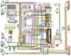 электросхема ваз 21011 с описанием