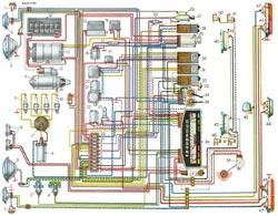 Электросхема ВАЗ 2101