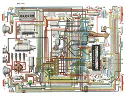 Электросхема ВАЗ 21011