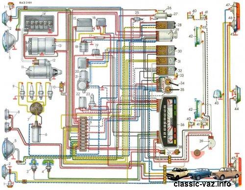 Расшифровка электросхемы