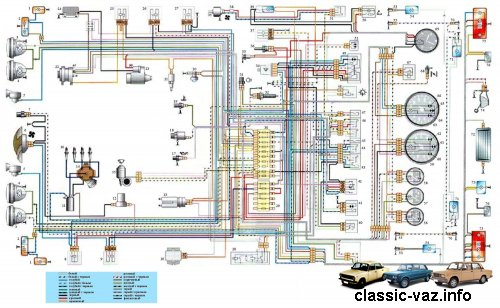 Электросхема lt b gt ваз lt b gt 2106