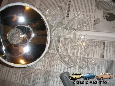 1234629855 angelskie glazki 13 - Фары ангельские глазки на ваз 2106