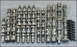 Распределительный механизм форсированного мотора