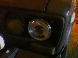 Фары от BMW в ВАЗ 2106