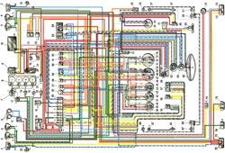Электросхема ВАЗ 2103