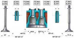 Особенности устройства ГБЦ ВАЗ 2101-21011-2103
