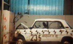 Краш-тест ВАЗ 2105. 1982 год. Видео