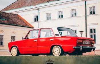 Двухцветный ВАЗ 2101